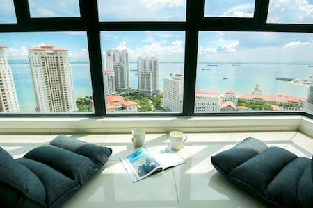 Live Like Millionaire Seaview Condo @无敌海景日出套房