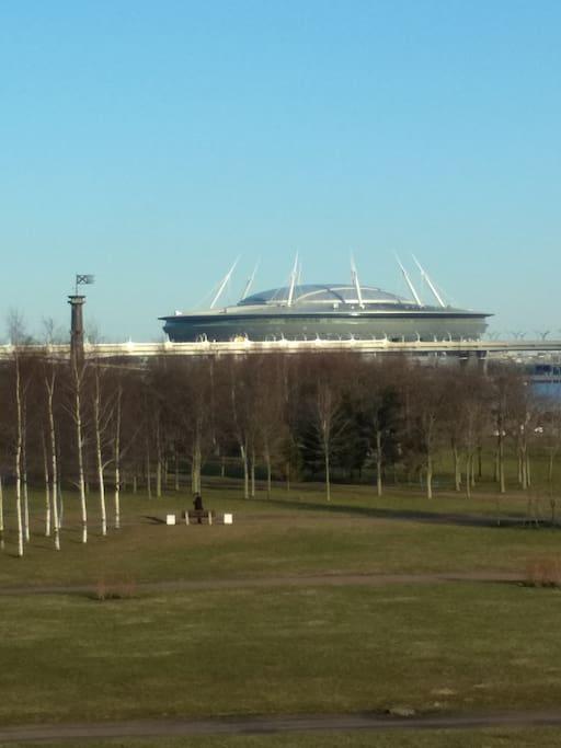 Стадион совсем рядом