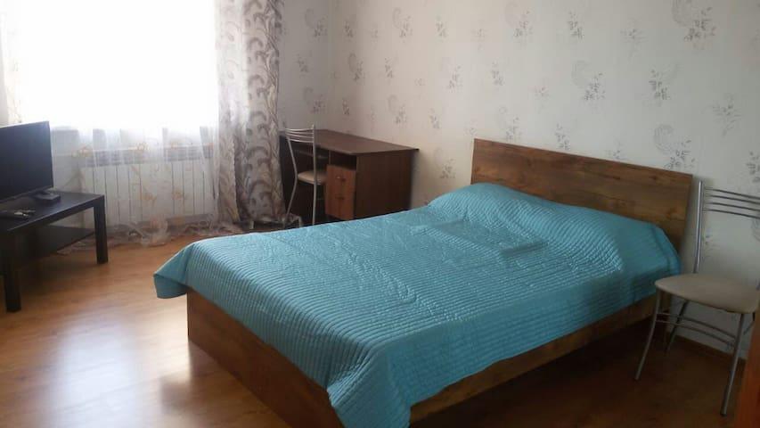 Однокомнатная квартира на Адоратского, 4а