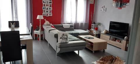 Maison La Courlisette proche centre ville Nevers