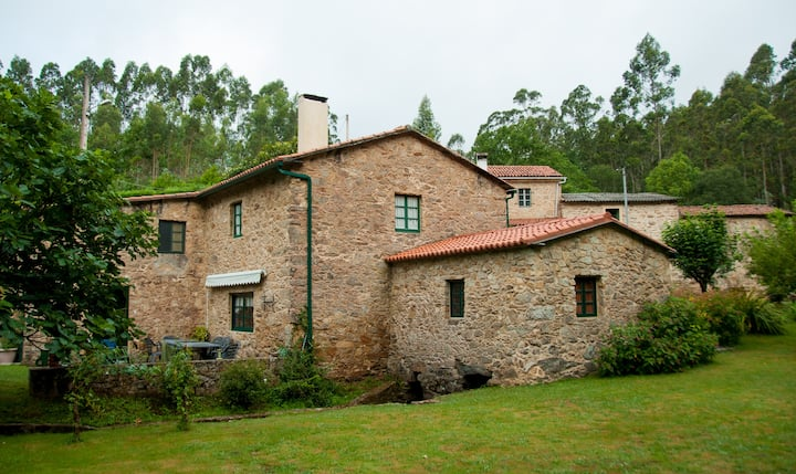 Casa rural antiguo molino rehabilitado
