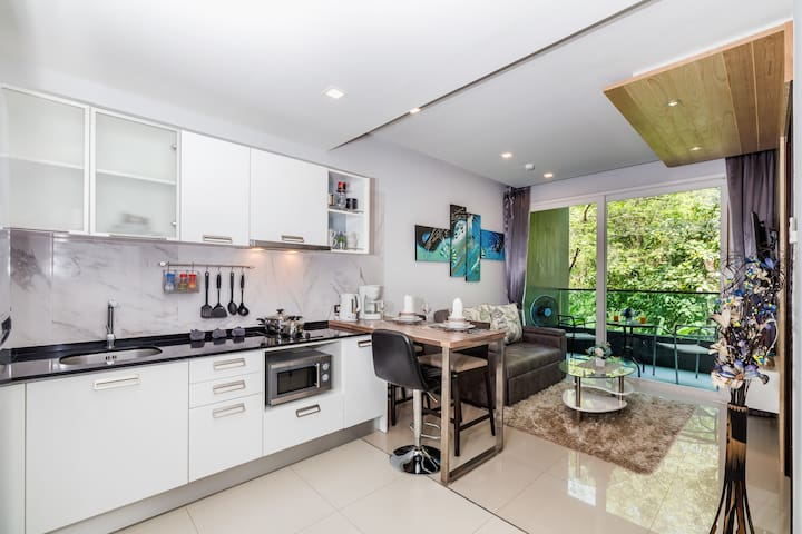 Delightful 1 Bedroom apartment @Patong, 50 sq.m.