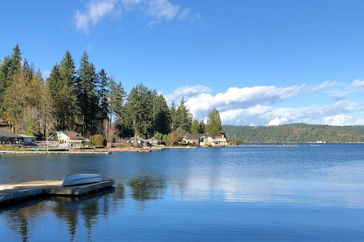 New listing! Waterfront, family-friendly home w/ firepit and dock