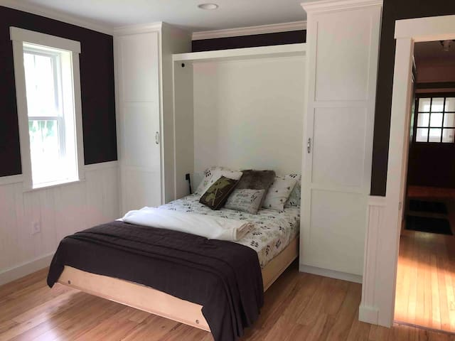 Office/ downstairs bedroom with Murphy bed