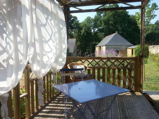 Chambre individuelle de charme - Saint-Jean-des-Mauvrets - Casa