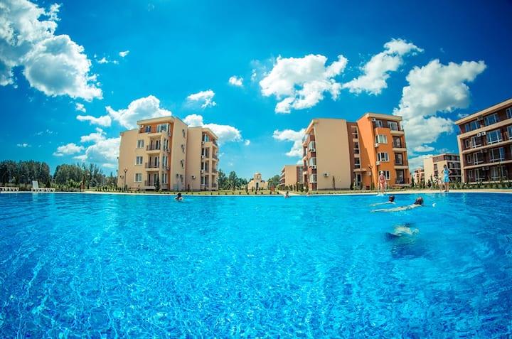 Visit Sunny Beach Ivayla Pool View Studio