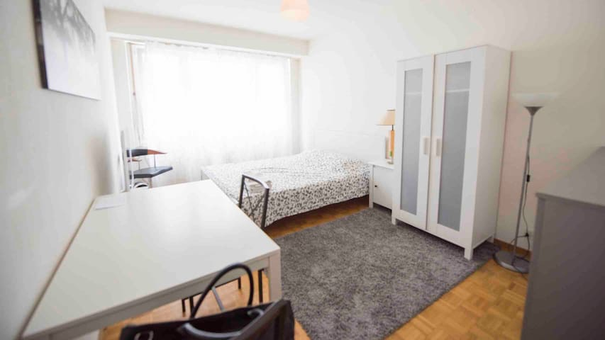 Great apartment Geneva center Plainpalais Carouge