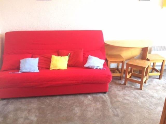 Appartement Studio Cabine 4 couchages RISOUL 1850