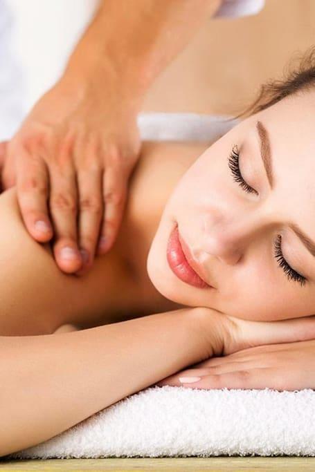 The location of massage