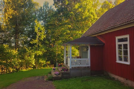 Unique old cottage/theatre in the forrest - Karlstad