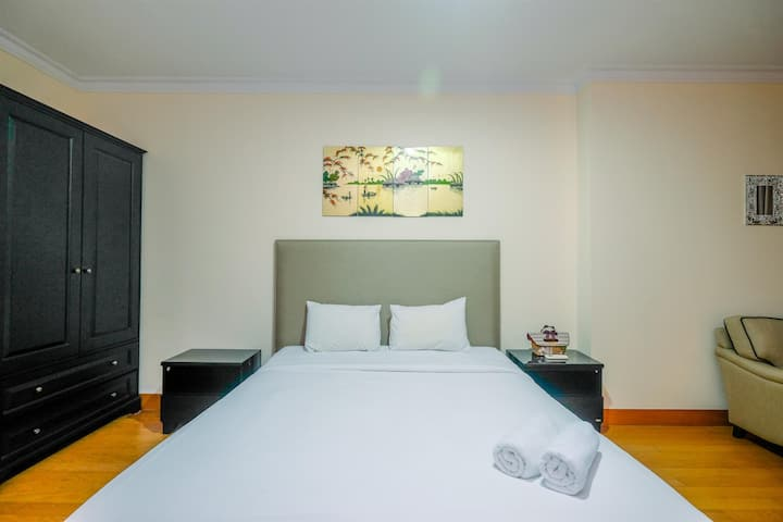 Exclusive and Spacious Studio at Residence 8 Apt