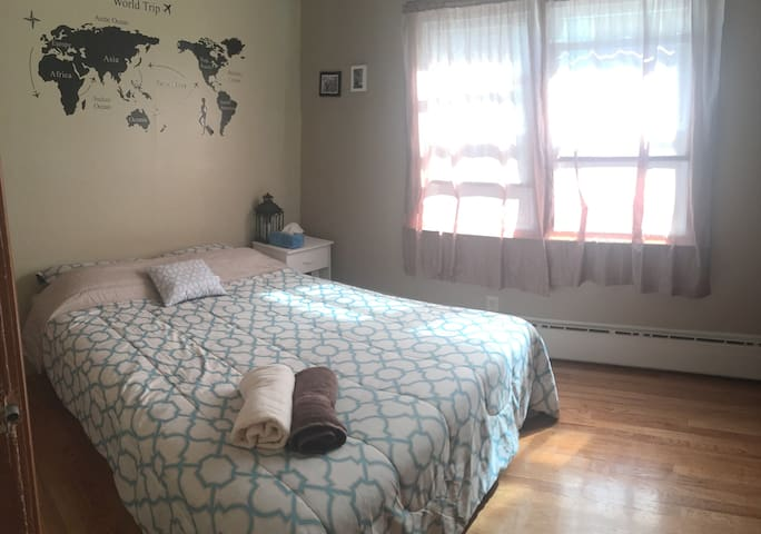 private room in harrison/ close to Newark and NYC