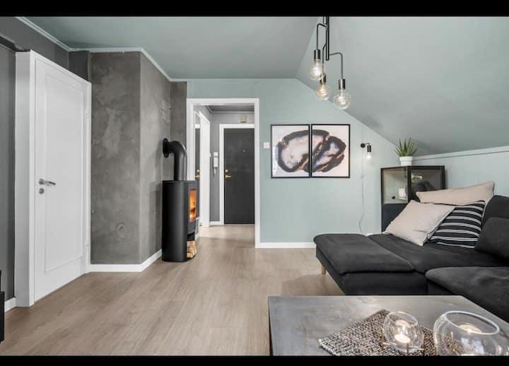 Flott leilighet - sentralt på Lund i Kristiansand