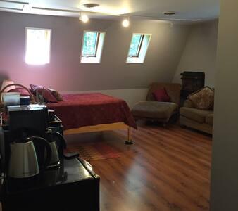 Cozy Room w/Separate Entrance and Private Bath - Interlochen - House