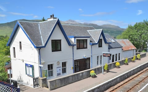 Unique home at Strathcarron Station, near Skye