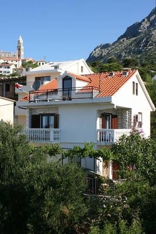 One bedroom apartment with balcony and sea view Igrane, Makarska (A-6840-a) - Igrane - Leilighet