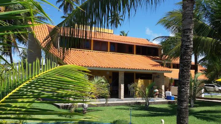 Maragogi - Casa Beira Mar com 03 Suítes 08 Pessoas
