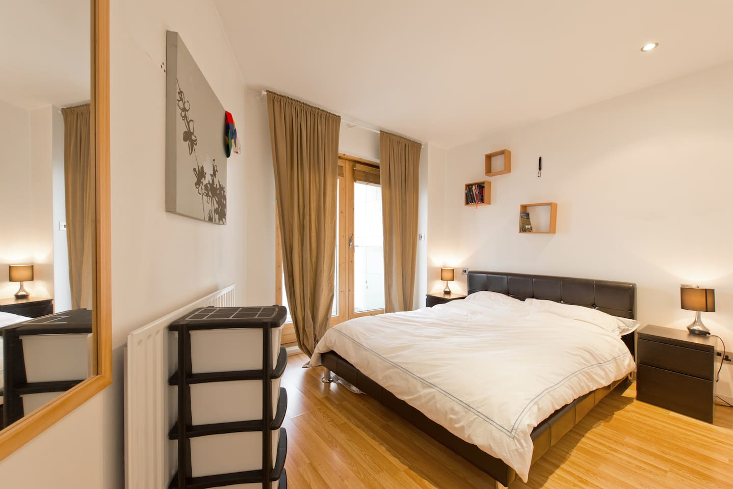 Double Bedroom with own Balcony and Ensuite