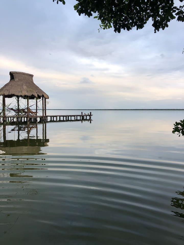 Villas Bizu lagoon 1
