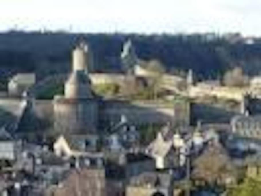 20 minutes du château de Fougères