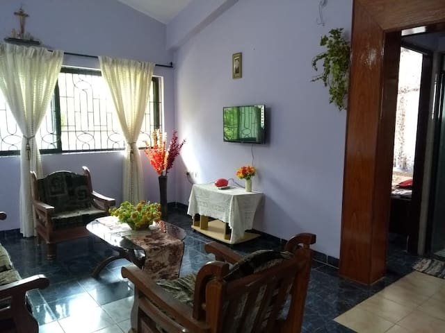 Sunshine 1 Bhk Apartment near Majorda Beach
