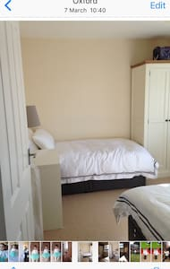 A lovely bright twin room - Oxford