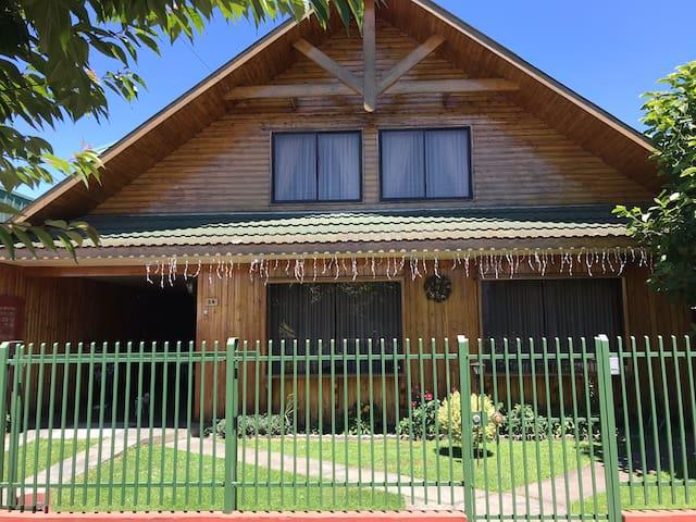 Habitación matrimonial centro de Lanco