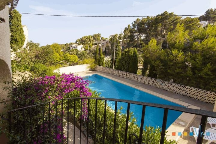 POLEN - Holiday villa situated in quiet residential area in Moraira