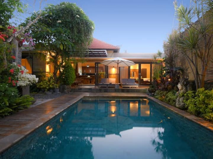 A tranquil hideaway in central Sanur!