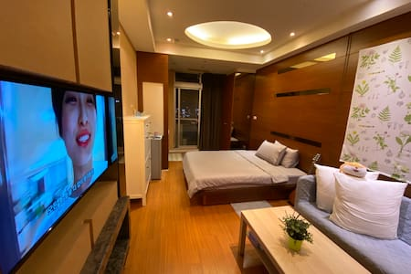 [市政府站/Taichung City Hall] Deluxe Room & Mini Bar ❤️
