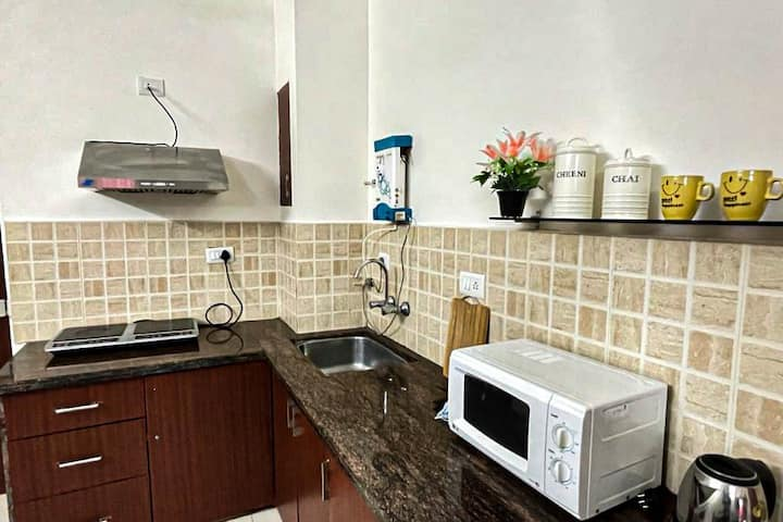 2BHK Luxe-Comfy Apartment close to Baga by Hottley