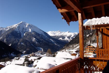 Charming Apartment in Champagny - 尚帕尼恩瓦努瓦茲(Champagny-en-Vanoise)