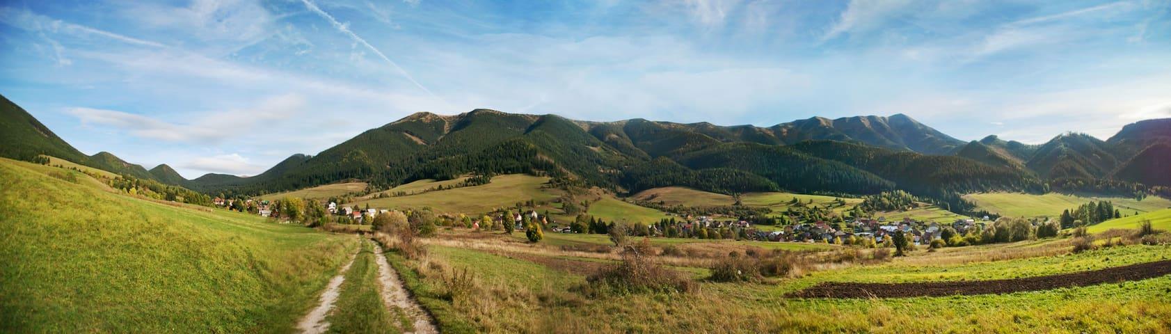 Pension II in the beautiful countryside of Liptov.