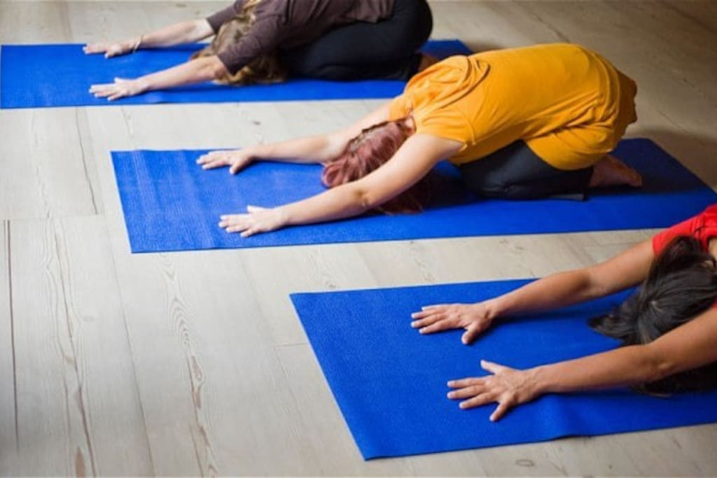 Yoga classes Tuesday and Thursday 7 to 8 pm