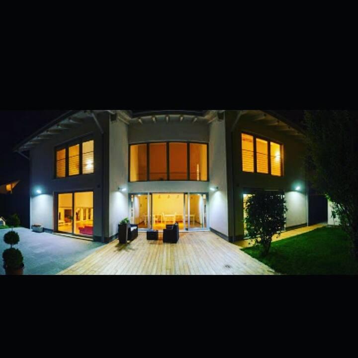 B&b wooden house
