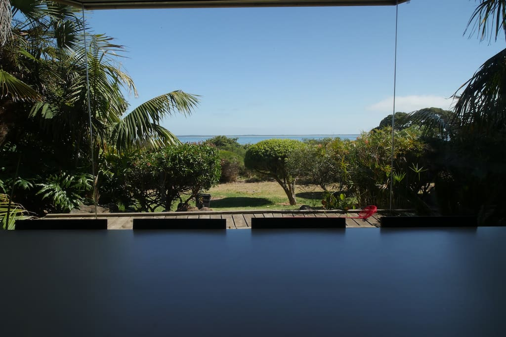View From 10 Seat Dinning Room Table