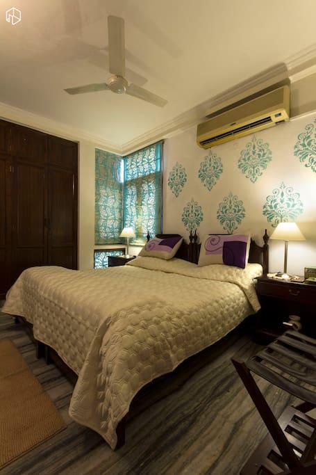 View of Bedroom in the Suite
