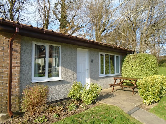Detached bungalow in North Cornwall