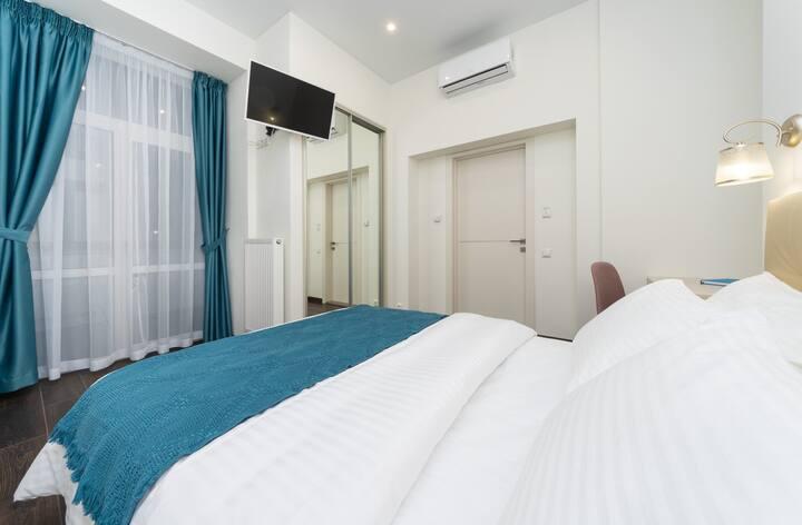 Kiev Story Hotel. Room with balcony