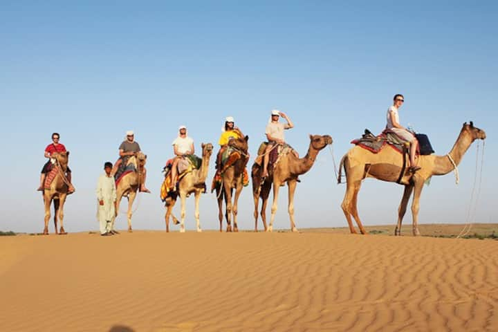 The Desert Safari Experience in Jaisalmer
