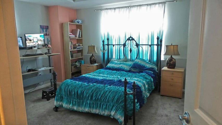 Private Large Master Bedroom - Aptos - Hus