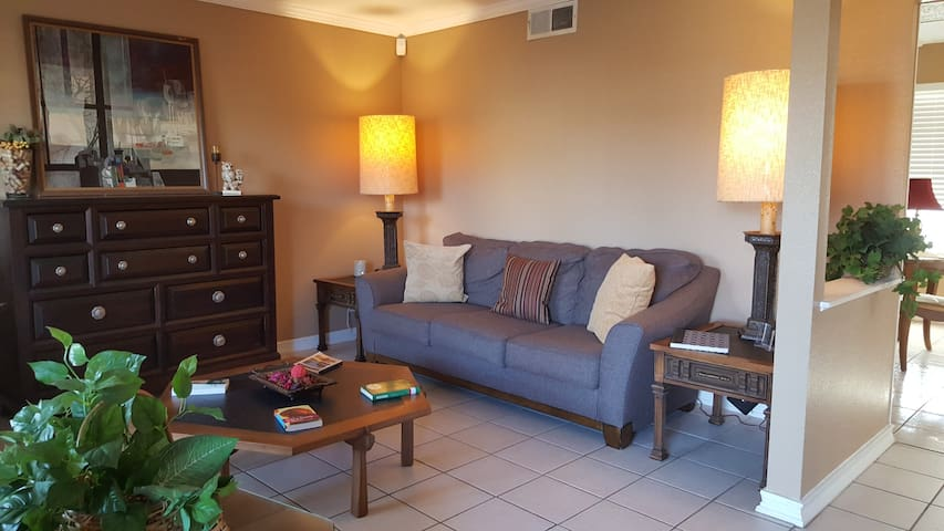 Spacious Suite w/ private bathroom & fast WiFi - San Antonio