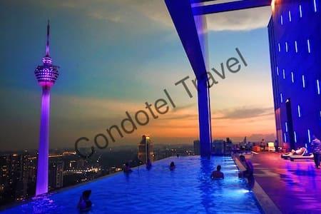 New Amazing Pool With KLCC View at Kuala Lumpur - Kuala Lumpur - Appartement