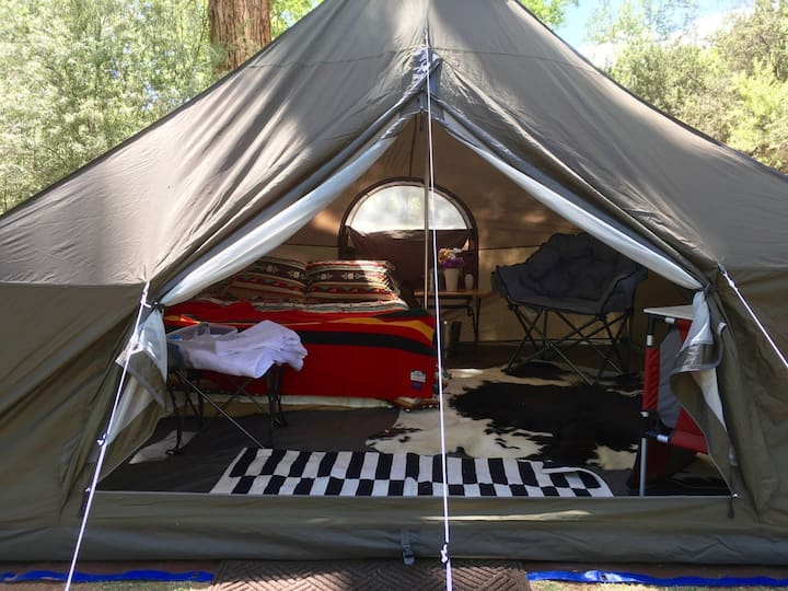 Glamp-site near Grand Canyon, Bryce, Zion, Sedona