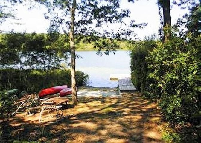 Lover's Lake Chatham Waterfront Home