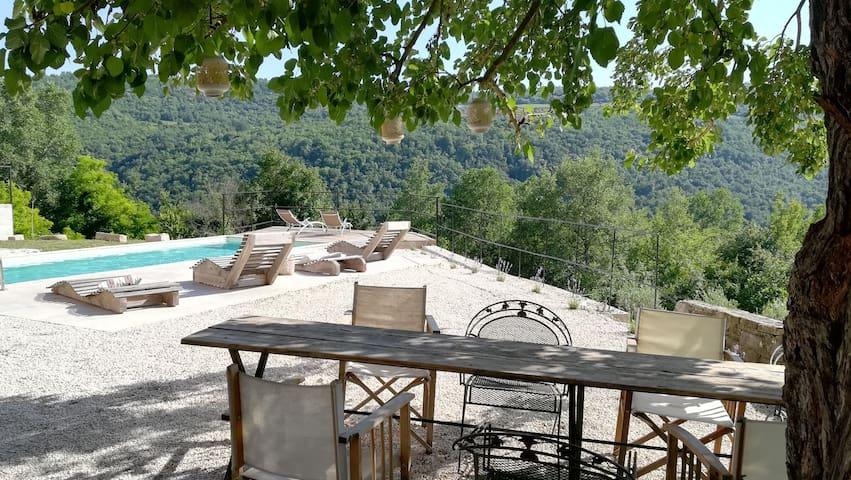 Villa Mare a natural paradise in Motovun.