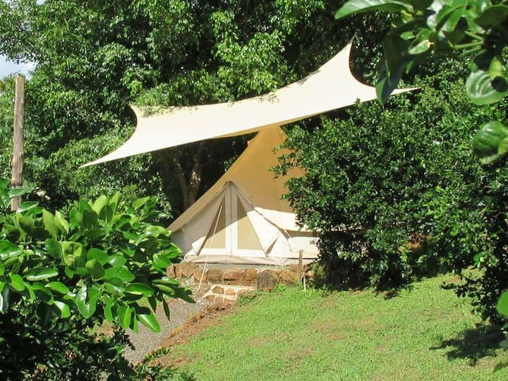 Hostel Alouatta - 2 person private tent oceanview