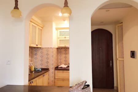 龙沐湾 三亚的黄金海岸 1室1厅 海景养生度假公寓