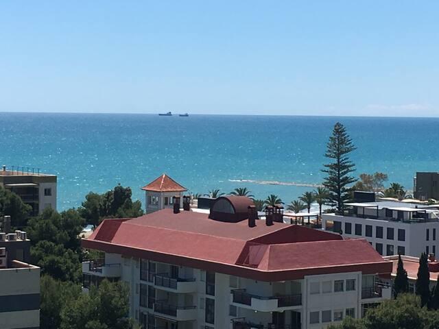 Apartamento con vistas playa Almadrava Benicasim