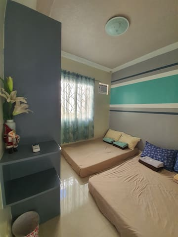 Nothing makes you feel better than sleeping in a soft and comfortable  bed. This is a fully air-conditioned bedroom 2.